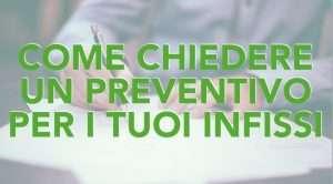 preventivo infissi