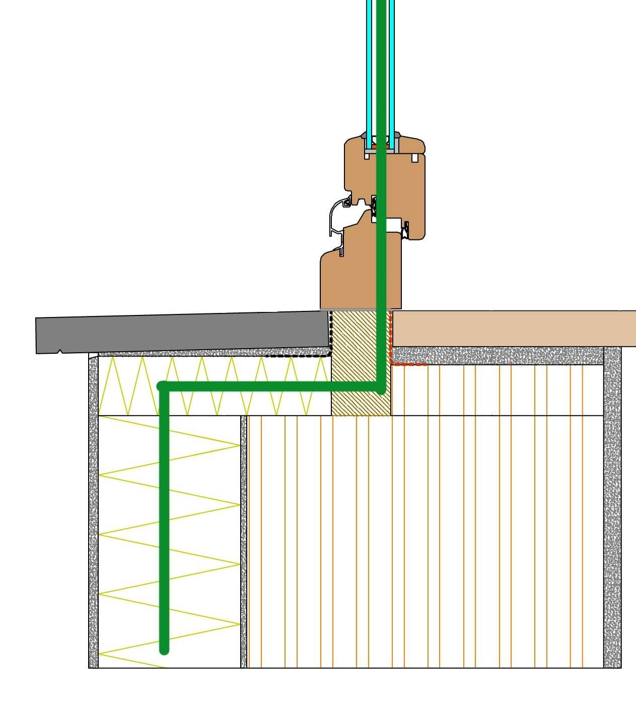 Davanzale passante in marmo soluzioni per la posa in opera dei serramenti - Montaggio finestre pvc senza controtelaio ...
