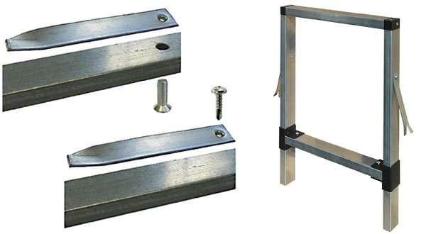Il fissaggio meccanico del controtelaio - Montaggio controtelaio porta ...