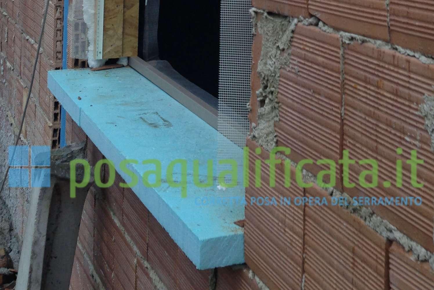 Il quarto lato inferiore del controtelaio - Montaggio finestre pvc senza controtelaio ...