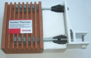 Thermax ponti termici puntuali cappotto