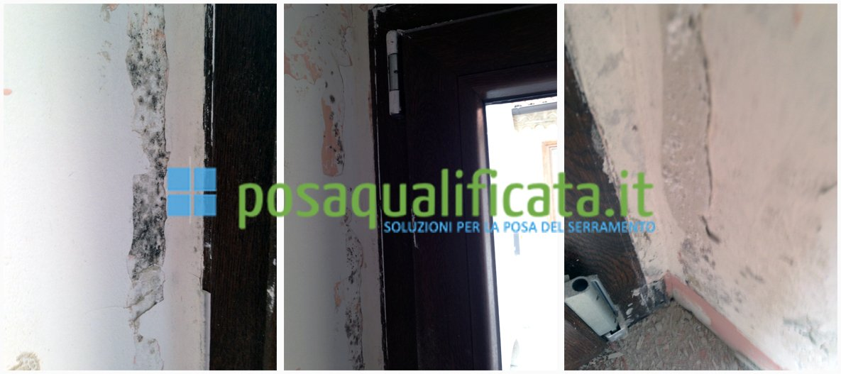 I problemi del controtelaio in ferro - Condensa su finestre in alluminio ...