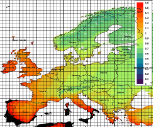 Trasmittanza Termica Serramenti Europa
