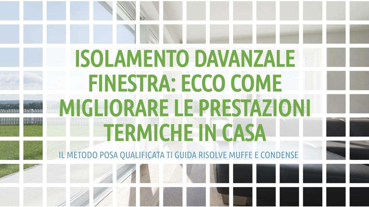 Davanzale Interno Della Finestra isolamento davanzale finestra: migliora le prestazioni