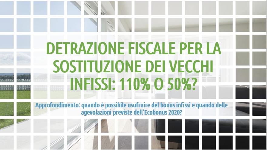 detrazione fiscale infissi 2020: ecco cosa prevede il Decreto Rilancio con l'Ecobonus