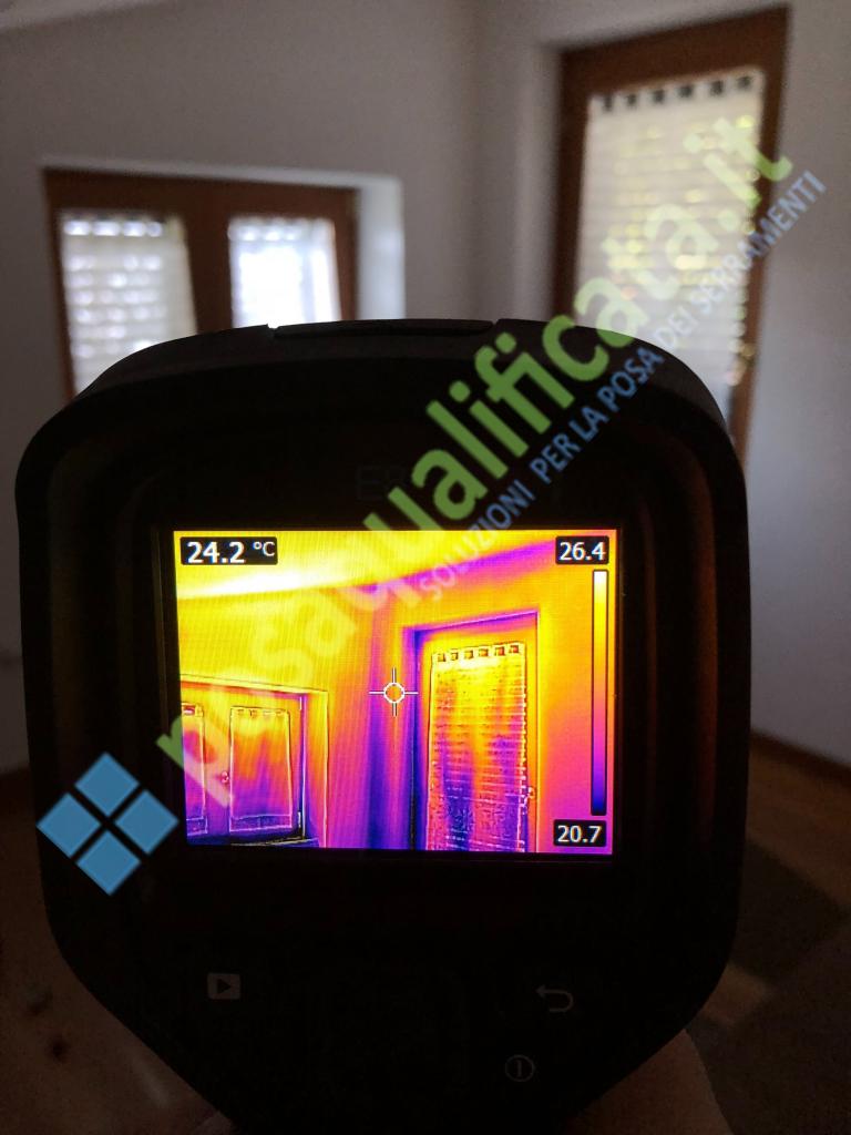 Termografia per riqualificazione energetica edifici esistenti