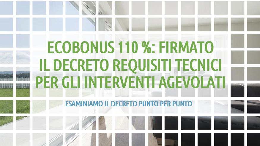 decreto_requisiti_tecnici_ecobonus_2020_posaqualificata: titolo dell'articolo in verde